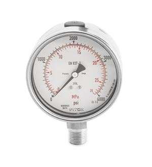 Stainless Steel Safety Gauges - GB - 1